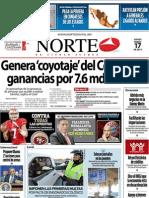 Periodico Norte de Ciudad Juárez 17 de Enero de 2013