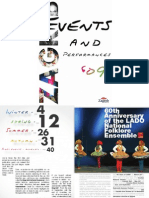 Zagreb 2009 Events & Performances