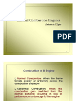 combustion in si engines