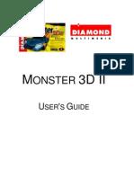 MONSTER 3D II USER'S GUIDE