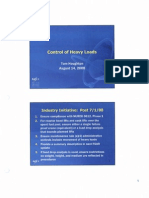 Control of Heavy Loads