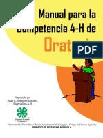 manual para la competencia 4h de oratoria