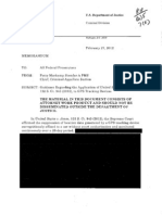 Department of Justice GPS tracking memo 1