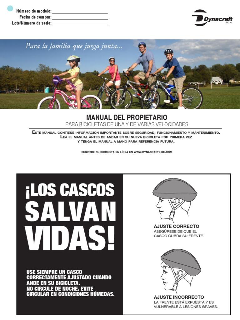 manual de armado de bicicleta