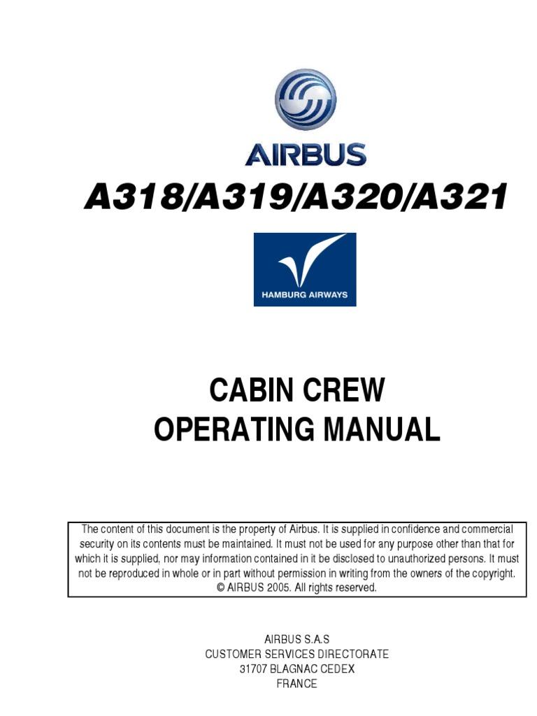 cabin crew manual rh scribd com Airbus A320 Interior airbus a320 flight crew operating manual