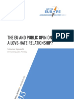 The EU and the Public Opinions