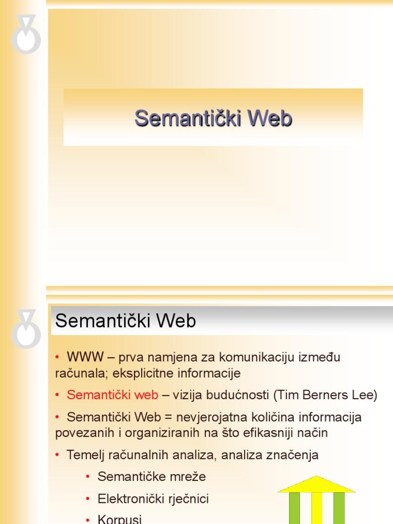 Web definicija web rječnika