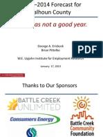 Calhoun County 2013-14 Economic Forecast