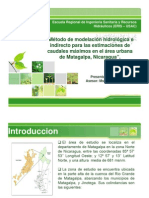 Estudio Modelacion Hidrologica Urbana
