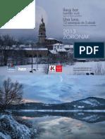 Calendario Euskolabel 2013