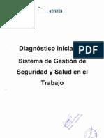 FORMATO DE DIAGNOSTICO INICIAL SST