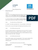Simple Passives Sheet