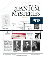 One Hundred Years of Quantum Mysteries