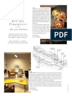 Rue des Vinaigriers - Air France Madame December 2012 - January 2013
