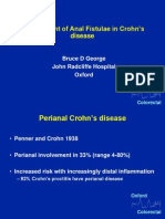 managment of anal fistula in crohn disease