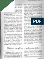 """Viñas, Ismael (1956), """"Miedos, complejos y malosentendidos"""", Contorno nº 7 y 8, Buenos Aires."""