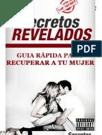 Guía Rápida para Recuperar a tu Mujer - SECRETOS REVELADOS