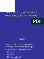 Guidance for Good Practice