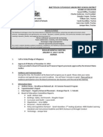 Mattituck-Cutchogue BOE meeting agenda, Jan. 17
