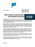 RIUnited Press Release on fallacious NOM ad