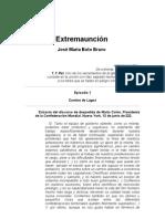 Boto Bravo, Jose Maria - Extremahucion