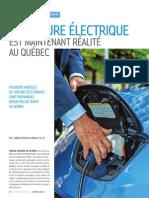 La voiture électrique est maintenant réalité au Québec