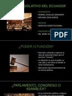 Poder Legislativo del Ecuador