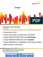 Campus QoS Design