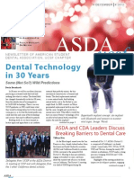 UCSF ASDA Fall 2012 Newsletter
