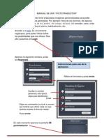 Manual de uso PICTOTRADUCTOR