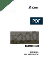ACERO BOHLER E200