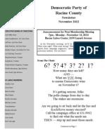DPRC November 2012