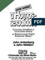 Os Fatos sobre a Homossexualidade