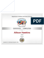 Mandated Reporter Certification
