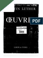 Exégèse de la Genèse de Martin Luther