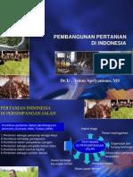 Konsep Pembangunan Pertanian di Indonesia