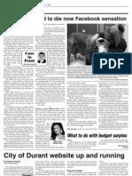 Derek Sawvell's Jan. 17 column in the Wilton-Durant Advocate News