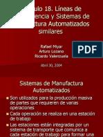 Líneas de Transferencia y Sistemas de Manufactura Automatizados similares