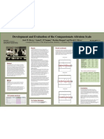 Development and Evaluation of the Compassionate Altruism Scale