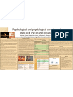 Psychological and Physiological Correlates of State and Trait Moral Elevation