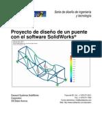 simulación de estructuara en solidworks