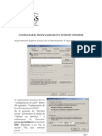 Como configurar Internet Explorer para proxy validado.pdf