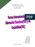 Trabajo de Las NIIF y NIC