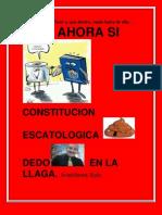 LA ESCATOLOGÍA CONSTITUCIONAL