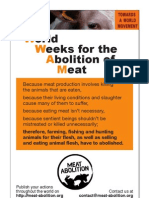 Campaign to Abolish Meat