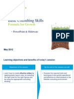 PPT and Writing for Consulting