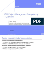 IBM PM Competency