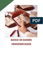 Banco de Sangre Hemoderivados