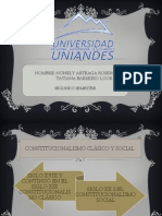 CONSTITUCIONALISMO CLÁSICO Y SOCIAL