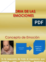 TEORIA DE LAS EMOCIONES